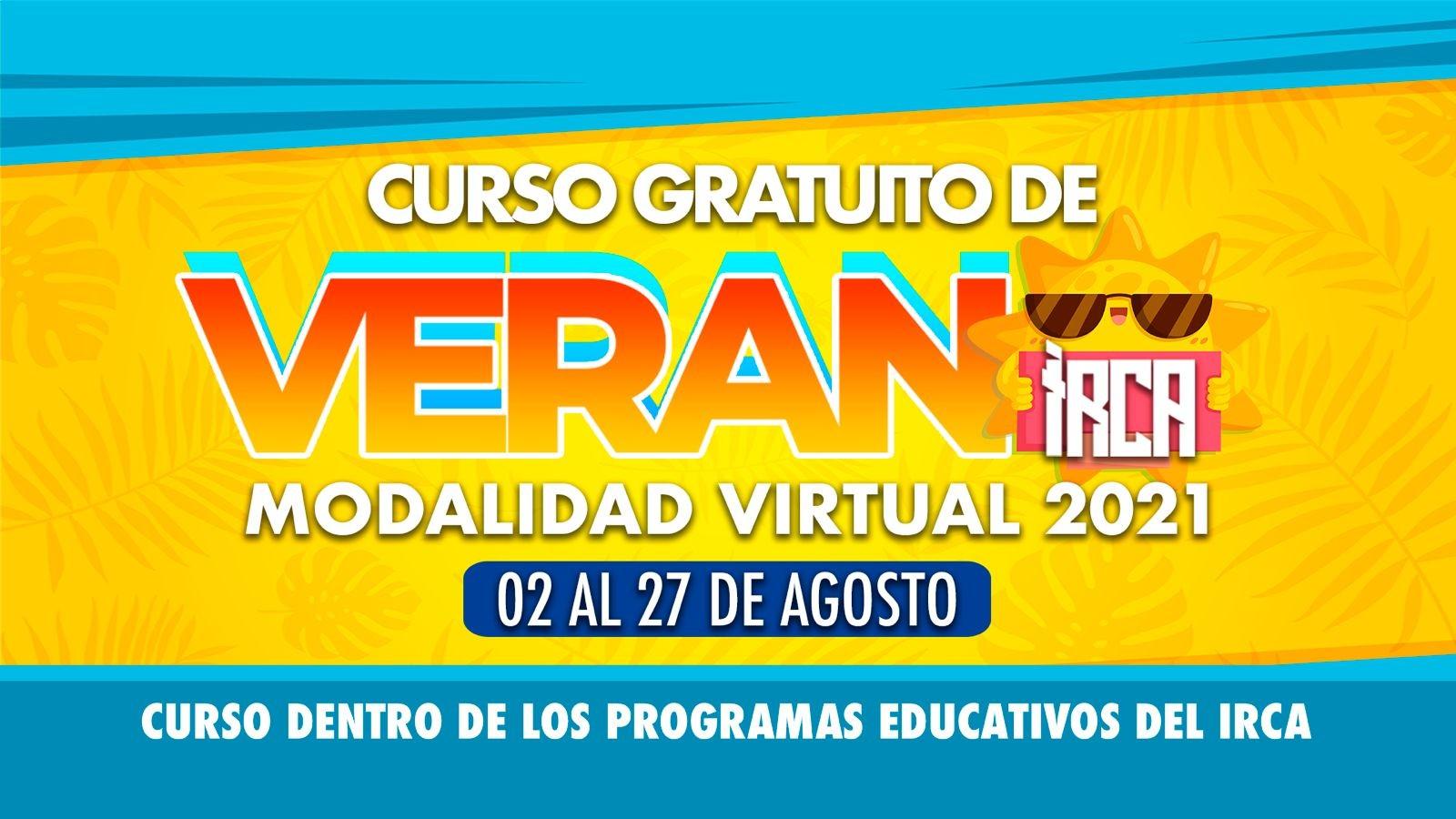 Curso Gratuito De Verano - Modalidad Virtual, 2021